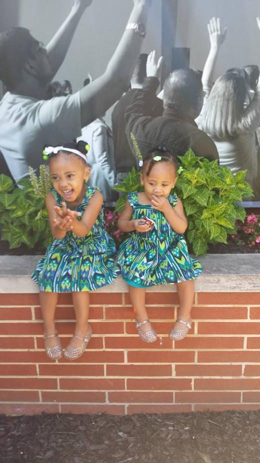Selah and  Mia
