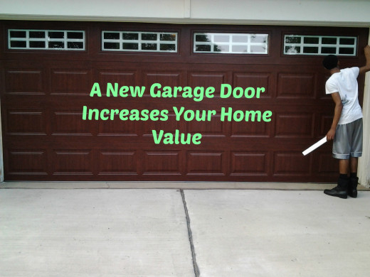 Give Your Home a Face Lift With a New Garage Door!  Try a Colored Door Instead of White.
