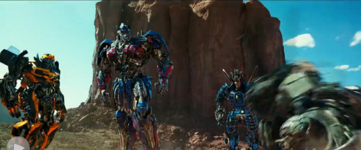 In an improvement over the last two films, the Autobots were all given clear personalities and received a ton of screen time.