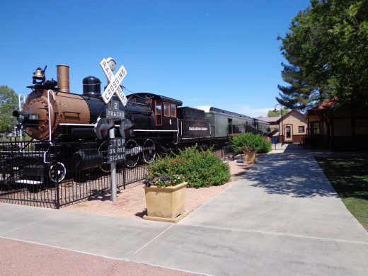 Magma Arizona Railroad Engine No. 6, built in 1906 -- at the McCormick Stillman Railway Park