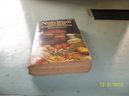 A Dictionary Of Nutrition