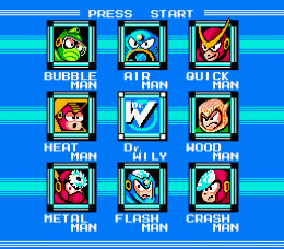 The Stage Select Was Awesome, Until You Realized That You Had to do The Bosses in a Specific Order. Boo!