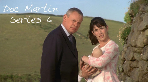 Doc Martin (Martin Clunes), Louisa Glasson (Caroline Catz)  and James Henry, their baby.  What is next for this family?