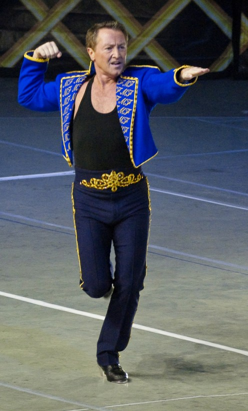 Irish dancer Michael Flatley