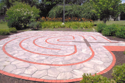 Have you ever walked a labyrinth in times of stress, sickness or grief? If so, did it help you?