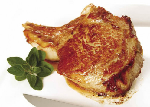 Veal contains less fat and cholesterol than beef.