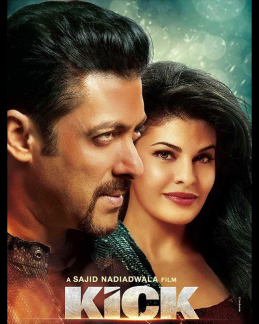 The brand new poster of Salman Khan's Kick has been released. The action feature film is directed by Sajid Nadiadwala and stars Randeep Hooda, Nawazuddin Siddiqui and Jacqueline Fernandez in lead roles.KICK movie latest news on Biscoot Showtym.