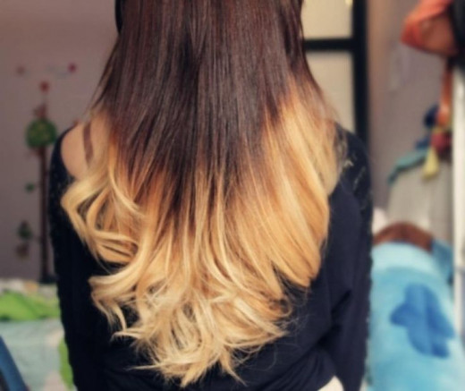 Some people think this is an okay Ombre, but lets be real the color match is way off.