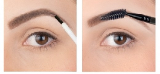 Finish with eyebrow sealer