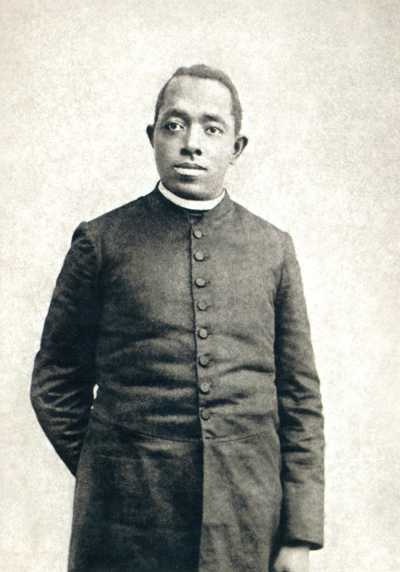 Newly discovered photo of Fr. Tolton, believed to be from the late 1890s.