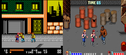 The Aracade Version (Right) Was Definitely More Awesome Looking Than Its NES Counterpart