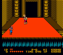The Final Battle Technically Had Both Brothers Fight in Both the Arcade Version and the NES Version. This Battle Only Happened in Cooperative Mode in the Arcade, Though.