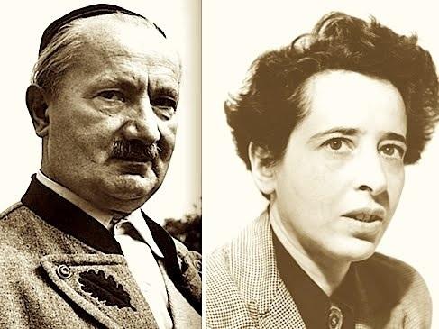 Martin Heidegger, Hannah Arendt