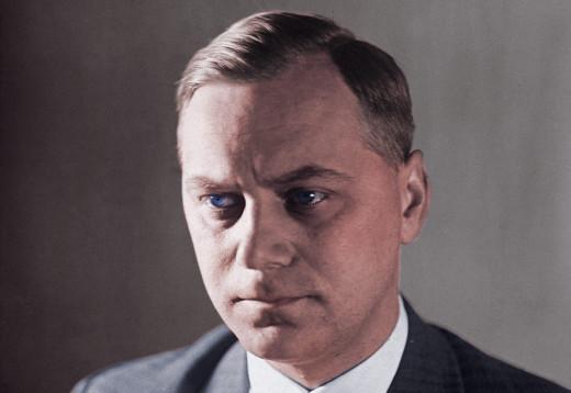 Hitler's philosopher, Alfred Rosenberg.