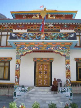 A Monastery in Keylong (stay highly recommended)
