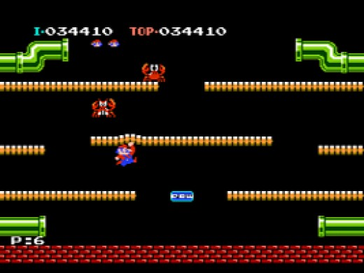 The Original Mario Bros. Game Is The Arcade Game That Came Out in 1983. Super Mario Bros. On the Nintendo Is Technically the Sequel.
