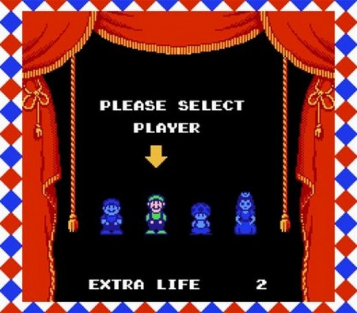 Nobody I Knew Ever Played as Mario. The Other Three all Had Abilities That You Could Exploit on Various Levels. Mario Had Nothing Special.