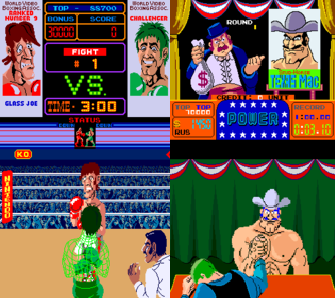 Punch Out!! and Arm Wrestling Were Both Released in Arcades During the Early to Mid 80s Before The Home Console Version Came Out