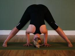 Prasarita Padottanasana - wide-legged forward extension