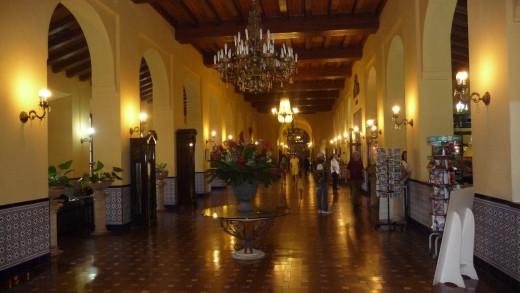 Hotel Nacionale de Cuba, main lobby