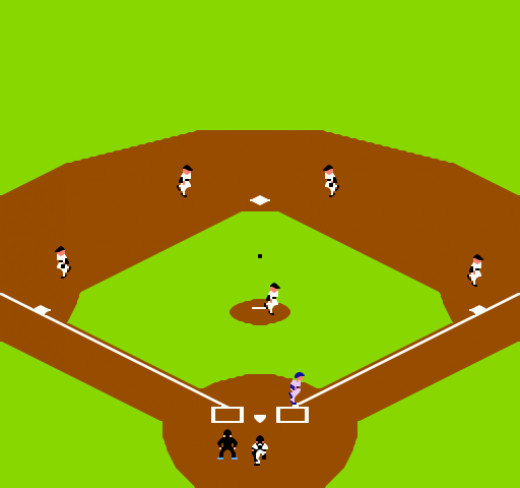 The Field Design Was Great, and They Programmed Each Fielder Just Right. They Didn't All Move in the Same Direction When You Moved Them like in Some Games. Bases Loaded Was Able to Compute Which Player Was in Play. It Looked Good, and Was Functional.