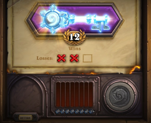 12 Wins In Hearthstone's Arena!