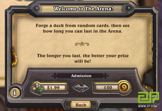 How To Buy An Arena Ticket in Hearthstone!