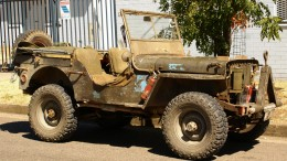 1942 Willy's Jeep