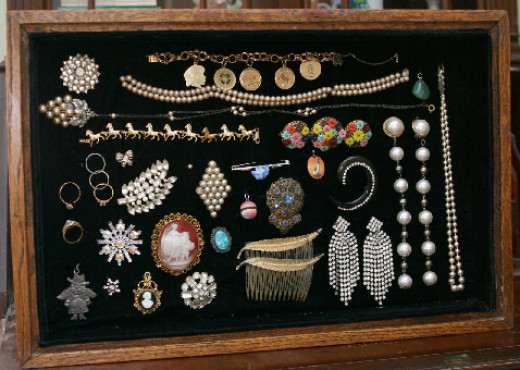 Smaller Heirloom Jewelry Collection