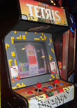 Tengen Held on to the Arcade Rights for Tetris, so the Arcade Was Eventually One of the Few Places Where You Found a Two Player Version. Seriously, Who Was Nerdy Enough to Want to Pay 25 Cents to Play This Thing? Okay, Don't Answer That. I Was.
