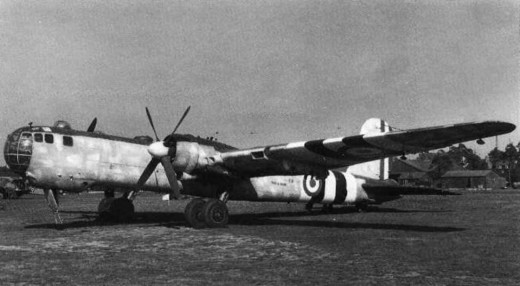 Captured HE177 in British markings