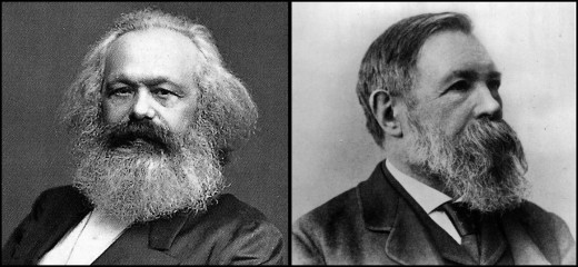 Karl Marx and Friedrich Engels dedicated their lives to pillorying capitalism.
