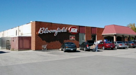 The Bloomfield IGA - the most overpriced grocery store you'll ever visit!