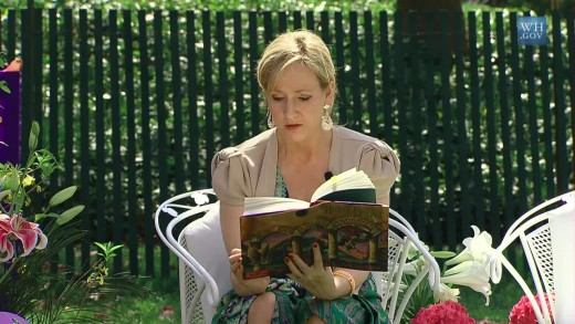 J.K. Rowling - Author of 'Harry Potter' series