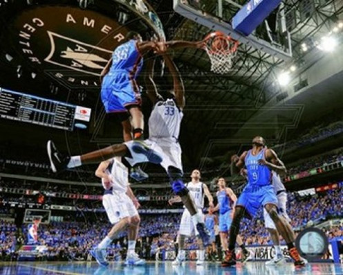 Oklahoma City Thunder - Kevin Durant Glossy Photograph Photo Print
