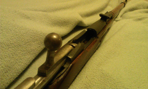 Receiver of Model 91/30 Mosin-Nagant