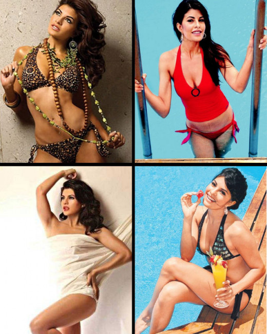 Biscoot Showtym brings you some sensuous and sexy pictures of Salman's onscreen lady love in Kick, Jacqueline Fernandez