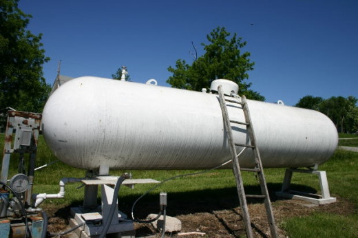 High pressure vessels can be used to store hydrogen generated on site.