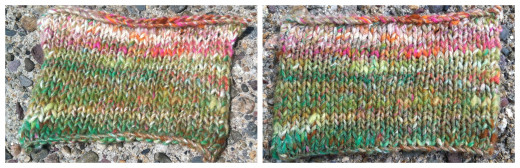 Kibou Knit Swatches