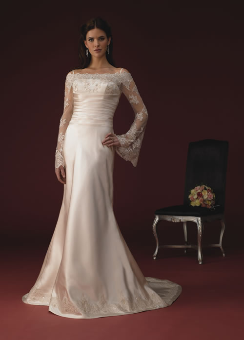 Take your time to find the right wedding dress