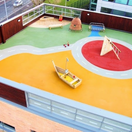 safety surfacing in schools and nurseries by DCM Surfaces Ltd