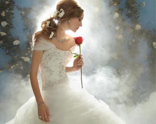 Alfred Angelo Disney bridal wear