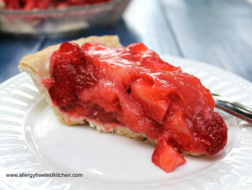 Strawberry pie is one of my favorites.