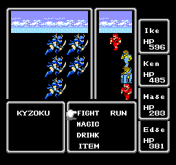 Combat in Final Fantasy