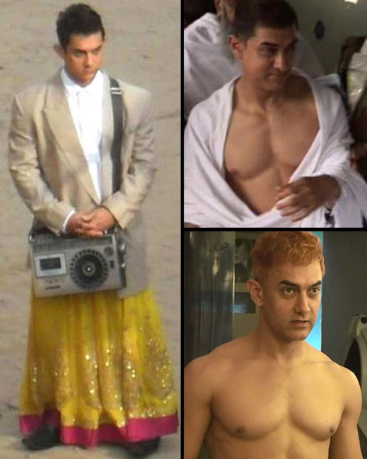 Aamir Khanr will give a glimpse of his nude avatar to the audience in the poster of PK!
