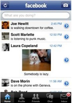 Facebook client: One of the most downloaded apps for iPhone 3g