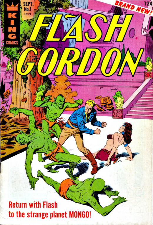 Flash Gordon Returns to the Strange Planet Mongo, King Comics.
