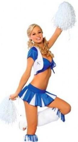 Cowboys Cheerleader Costume