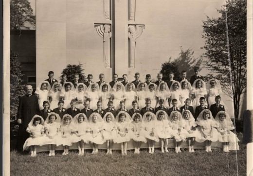 First Communion Christ the King Church Cincinnati 1958
