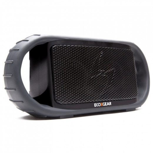 ECOXGEAR ECOXBT Rugged, Water Resistant, Waterproof Wireless Bluetooth Shower Speaker (Black)